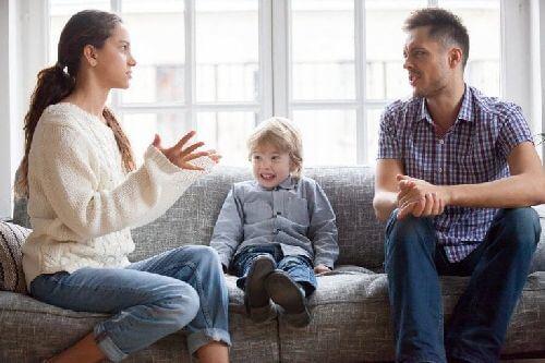 Kłótnia rodziców