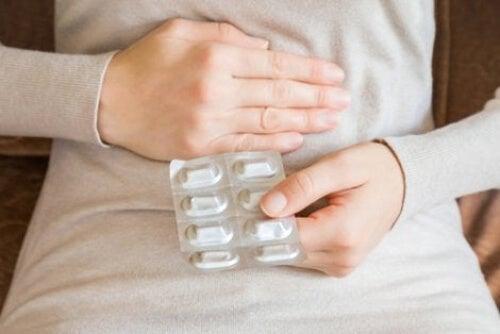 Ból brzucha po lekach