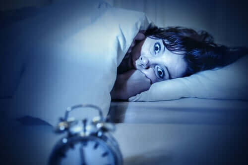Kobieta, która nie może spać