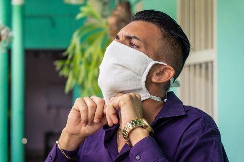 Typowe błędy podczas używania maski z tkaniny