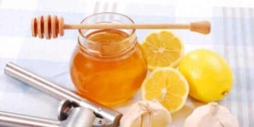 Miód i cytryny