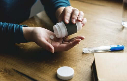Osoba biorąca niesteroidowe leki przeciwzapalne