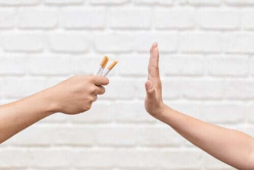 Osoba odmawiająca palenia - wpływ palenia na zdrowie