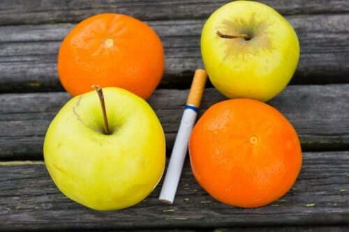 Owoce i papieros