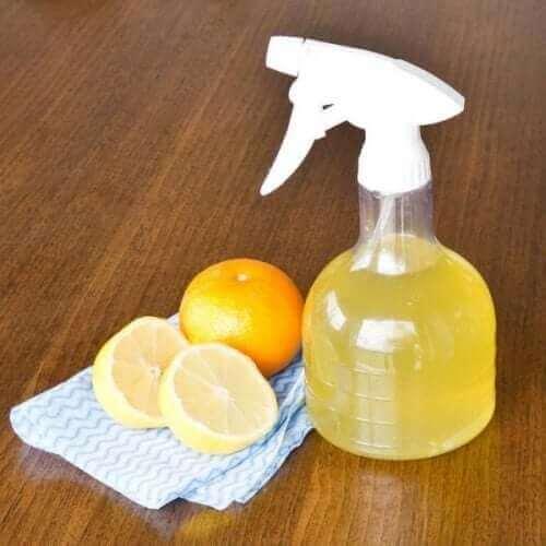 Ekologiczne środki czyszczące z cytryn