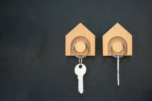 Wieszaki na klucze