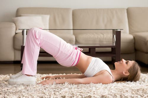Kwarantanna a ćwiczenia w domu