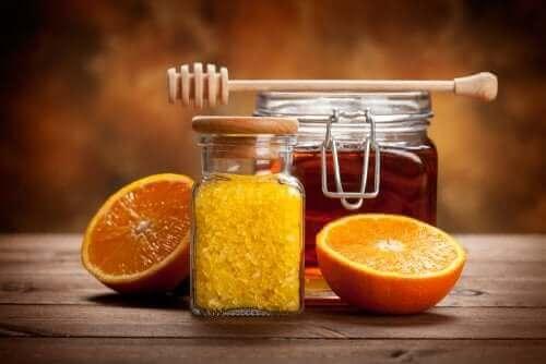 Miód i pomarańcze - niskosłodzony dżem z cytrusów
