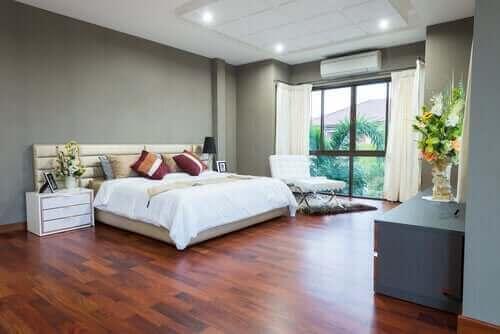 Łóżko w stylu feng shui