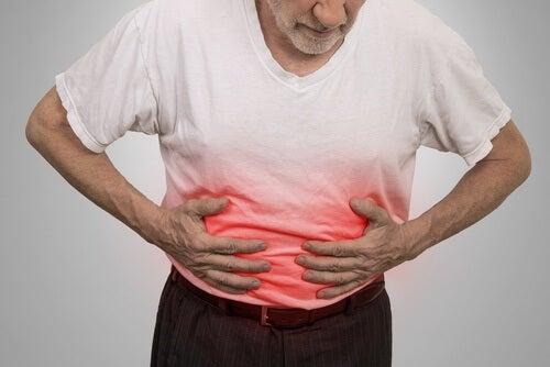 Ból brzucha spowodowany przez napoje gazowane
