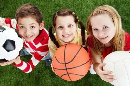 Dzieci i sport - zdrowie mózgu dziecka