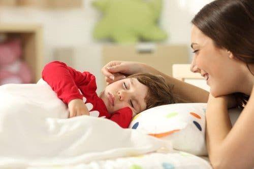 Dziecko podczas snu