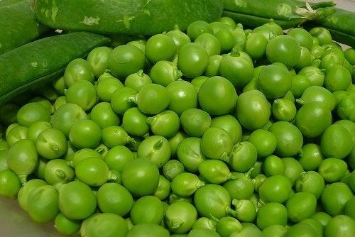 Zielony groszek: wartości odżywcze i korzyści