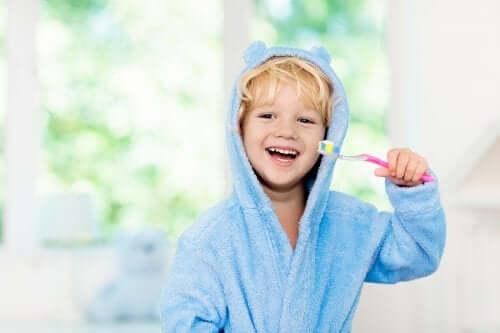 Higiena jamy ustnej dzieci