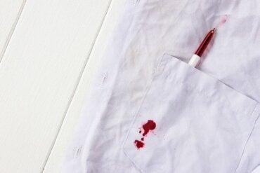 Jak usunąć atrament z dziecięcych ubrań