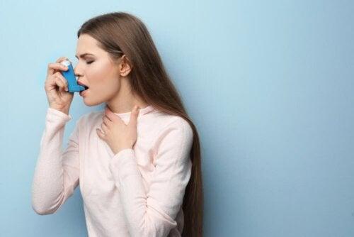Kortykofobia - astma