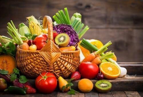 Koszyk warzyw