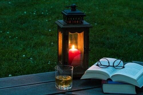 Drewniana latarnia