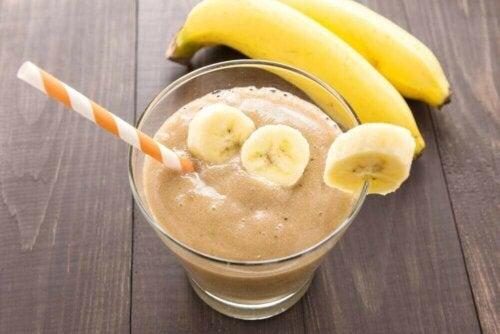 Koktajl z banana na zmęczenie mięśni