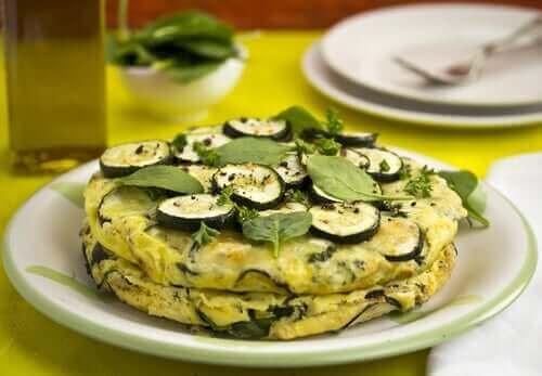 Pyszny omlet z cukinii