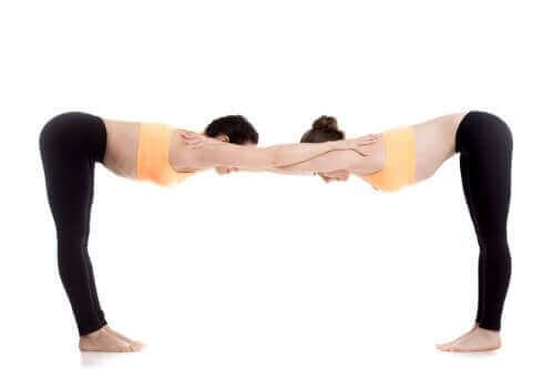 Pozycja stołu - joga par