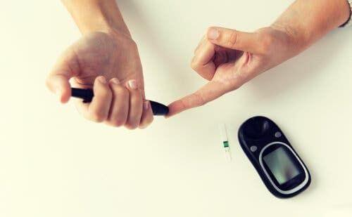 Badanie glukometrem