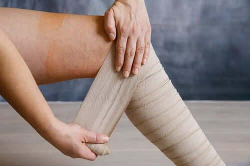 Bandaże uciskowe na zespół zmęczonych nóg