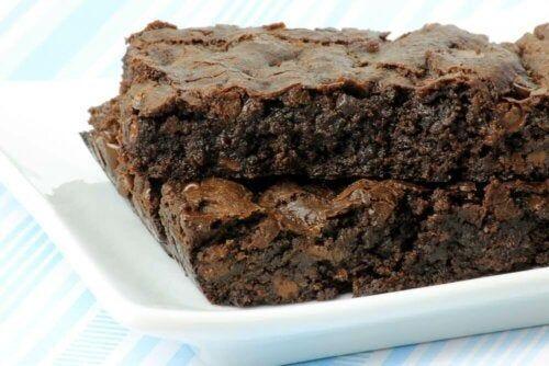 Gotowe ciasto czekoladowe