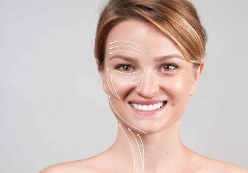 Kobieta i jej twarz