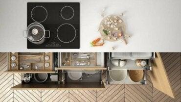 Przestrzeń do przechowywania w kuchni: jak ją zorganizować?