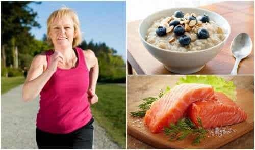 7 wskazówek pozwalających nie przytyć podczas menopauzy
