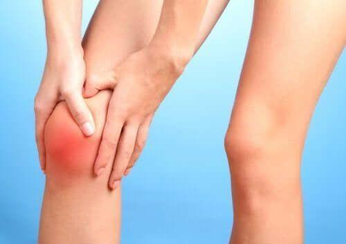 Ból kolana wywołany przez cukier
