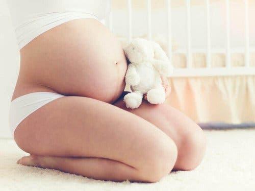 Brzuch kobiety w ciąży