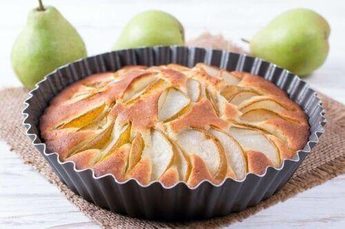 Jak zrobić ciasto gruszkowe bez cukru?