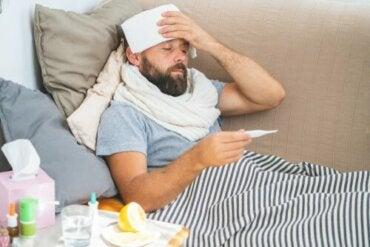 Dlaczego temperatura ciała wzrasta podczas gorączki?