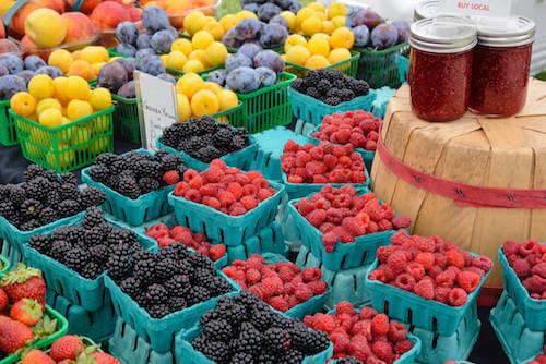 Owoce na rynku