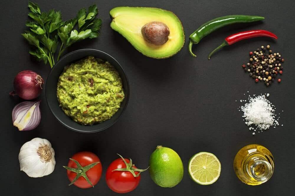 Produkty do guacamole