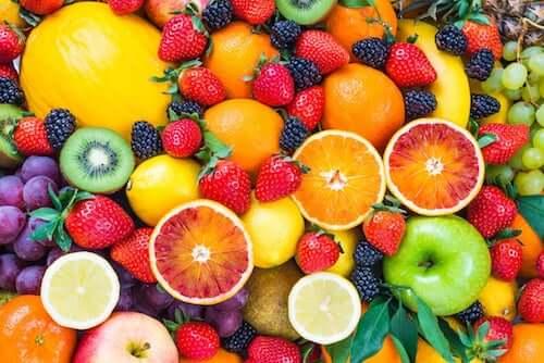 Różne owoce