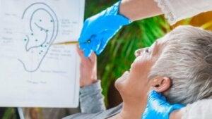 Stymulacja nerwu błędnego w uchu