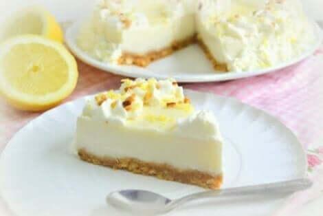 Ciasto cytrynowo - bezowe
