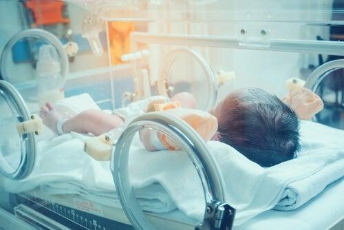 Dziecko pod respiratorem