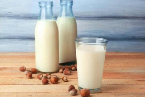 Mleko z orzechów laskowych - właściwości