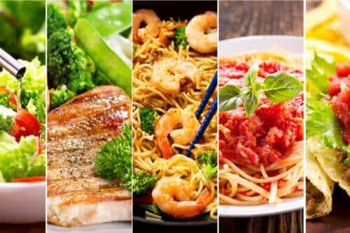 Grupy żywności według ich funkcji
