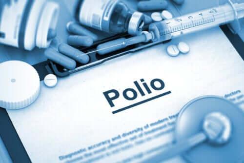 Polio lub ostre nagminne porażenie dziecięce - rodzaje
