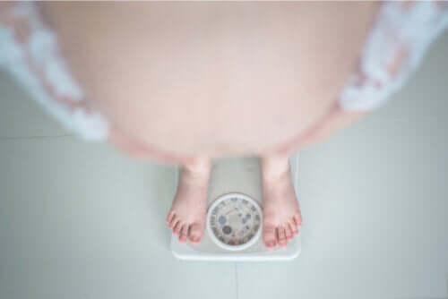 Otyłość w ciąży i trudności z nią związane