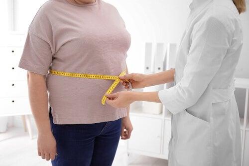 Pomiar obwodu brzucha