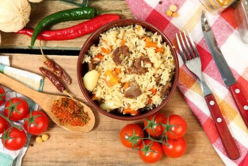 Potrawa na bazie bulguru
