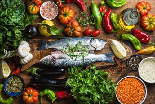 Ryby i inne zdrowe produkty