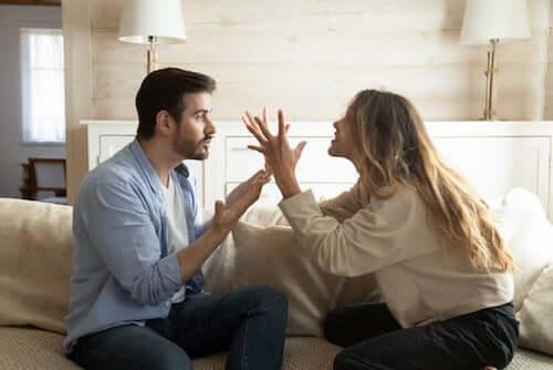Kłótnia w parze