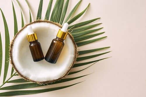 Olej kokosowy na strupy